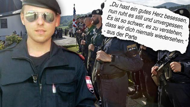 Polizist Daniel S. (23) wollte heim nach Kärnten (Bild: privat, APA/Gert Eggenberger)