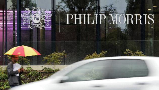 Das Hauptquartier von Philip Morris in Lausanne (Schweiz) (Bild: AFP/picturedesk.com/Fabrice Coffrini)
