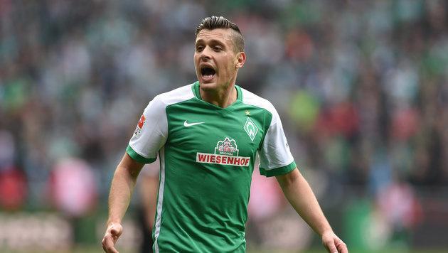 Werder Bremen erwägt wegen Hooligans Spielabsage (Bild: APA/dpa/Carmen Jaspersen)