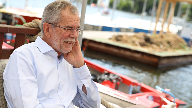 Schaffen Sie's noch einmal, Herr Van der Bellen? (Bild: Zwefo)