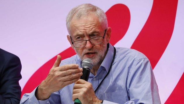 Jeremy Corbyn (Bild: APA/AFP/Patrick Kovarik)