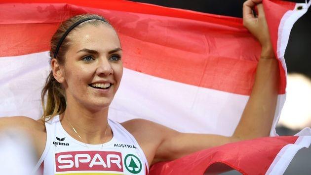 Dadic fixierte österreichischen Fünfkampf-Rekord (Bild: APA/AFP/FABRICE COFFRINI)