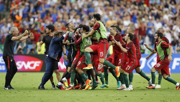 Portugal ist Europameister! (Bild: AP)