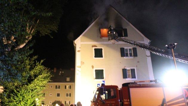 Steirer (23) fackelt Wohnung seiner Exfreundin ab (Bild: Feuerwehr Leibnitz)