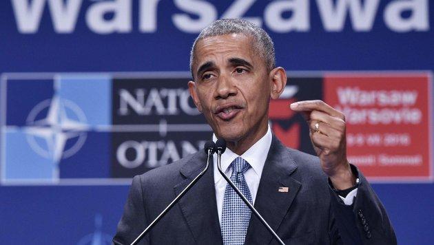 NATO-Gipfel war Obamas Abschied von Europa (Bild: APA/AFP/Mandel Ngan)
