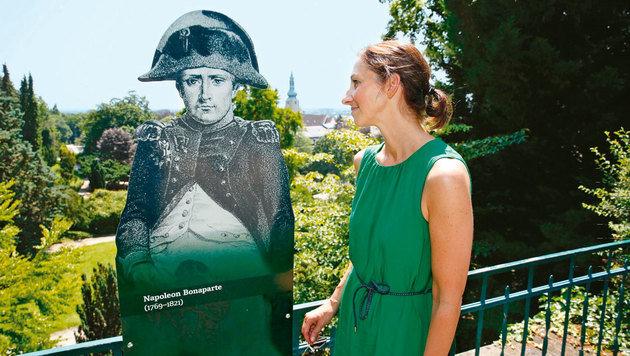 Napoleon war - ob der Aussicht - beeindruckt. (Bild: Martin Jöchl)