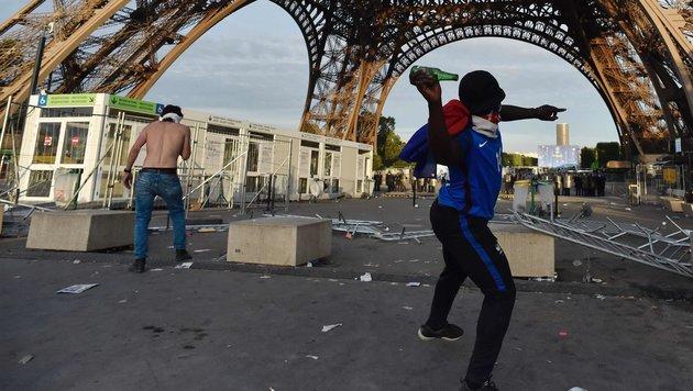 Erfolgreiche EURO war auch Sieg gegen den Terror (Bild: APA/AFP/ALAIN JOCARD)