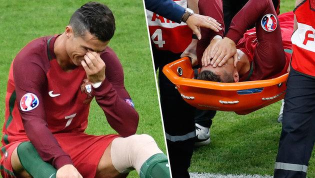 Diagnose ist da: Superstar Ronaldo im Glück! (Bild: AP, APA/AFP/PHILIPPE LOPEZ)