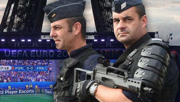 Erfolgreiche EURO war auch Sieg gegen den Terror (Bild: Associated Press, Schaadfoto/Markus Ulmer)