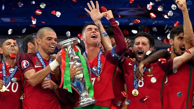 Europameister Portugal - ein verdienter Sieger? (Bild: GEPA)