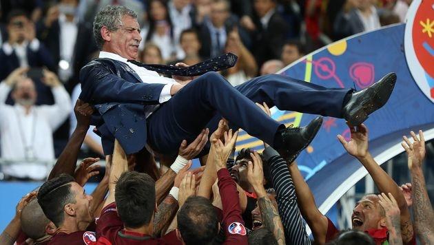 Fernando Santos: Der Brief des Teamchefs (Bild: AFP)