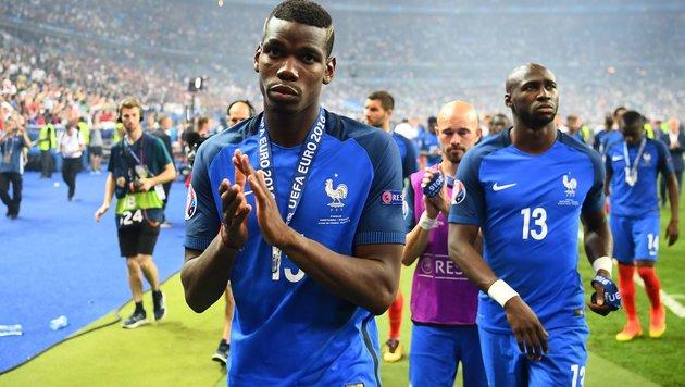"""Frankreich weint: """"Haben große Chance vergeben"""" (Bild: APA/AFP/FRANCK FIFE)"""