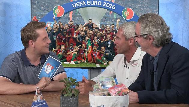 "Hartes EM-Fazit: ""24 Teams vertr�gt Europa nicht"" (Bild: krone.tv, AP)"