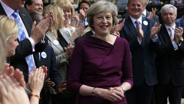 Theresa May wird David Camerons Nachfolgerin. (Bild: ASSOCIATED PRESS)