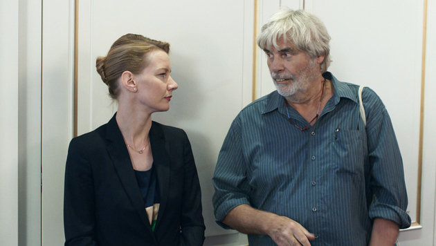 "Peter Simonischek in ""Toni Erdmann"" (Bild: Filmladen)"