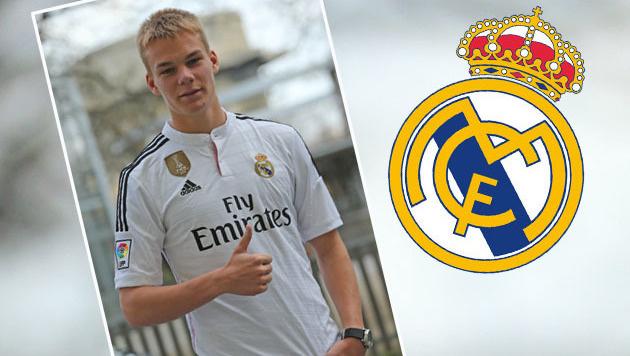 Lienhart: Eine Chance auf das Real-Madrid-Camp (Bild: Peter Tomschi)