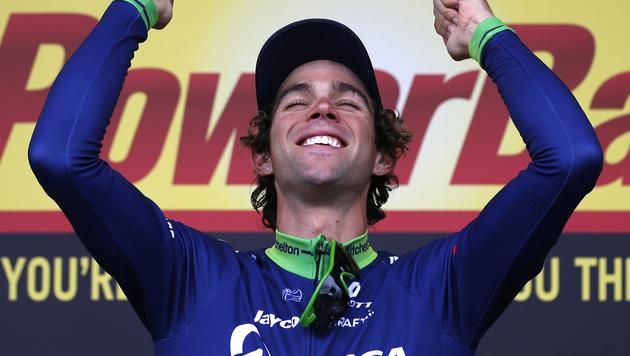 Matthews siegt auf der zehnten Etappe vor Sagan (Bild: AP)