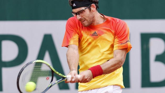 Gerald Melzer bei der ATP-World-Tour in Paris. (Bild: GEPA pictures/ Matthias Hauer)