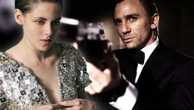 """Kristen Stewart (l. im Film """"Personal Shopper"""") kann sich vorstellen, """"007"""" Daniel Craig zu beerben. (Bild: Viennareport, AP)"""