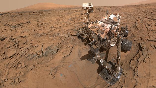 Software-Problem setzte Marsroboter außer Gefecht (Bild: NASA/JPL-Caltech/MSSS)