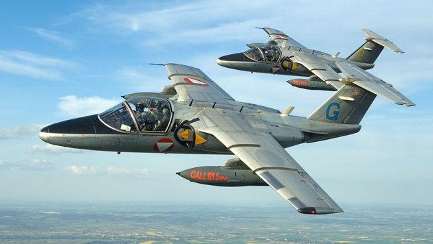 Saab 105 (Bild: BMLVS/Markus Zinner)