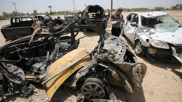 Irak: Autobombe tötet mindestens zehn Menschen (Bild: APA/AFP/Ahmad al-Rubaye)