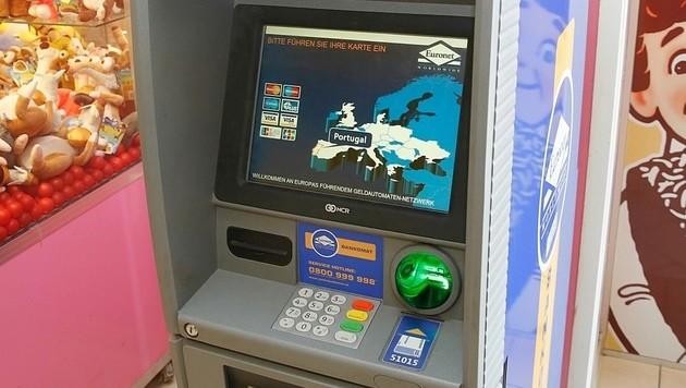 Ein Euronet-Bankomat in Wien (Bild: Krone)