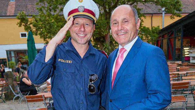 Michael Rosenberg und Wolfgang Sobotka (Bild: Starpix/ Alexander TUMA)