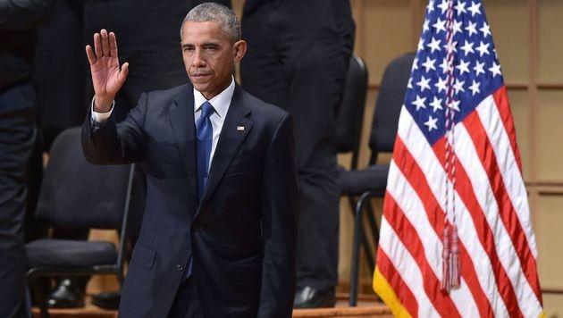 """Obama fordert """"rassenübergreifenden Respekt"""" ein (Bild: AFP)"""