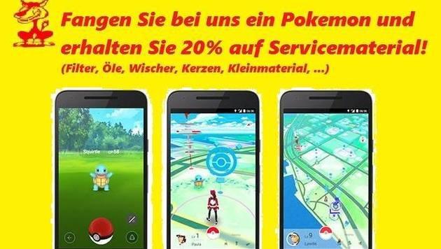 """""""Pokémon Go: Mega Hype mit großen Risiken! (Bild: Autoteile Wolf)"""""""