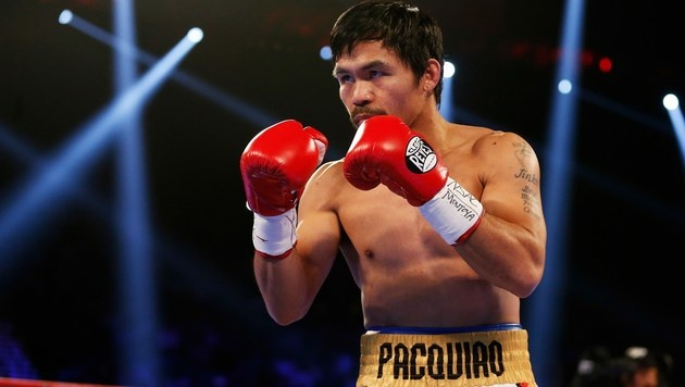 Box-Superstar Manny Pacquiao plant sein Comeback (Bild: APA/AFP/GETTY IMAGES/Christian Petersen)