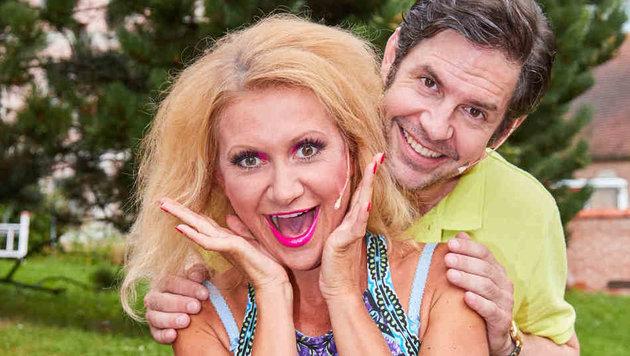 Angelika Niedetzky und Manuel Witting (Bild: Starpix/ Alexander TUMA)