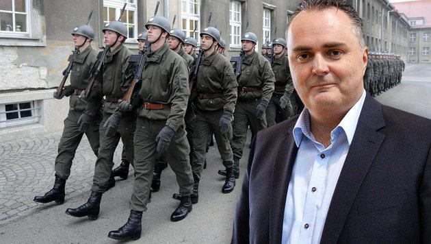 "Doskozil: ""Baldige Entsendung des Bundesheers"" (Bild: APA/HELMUT FOHRINGER, APA/BARBARA GINDL)"