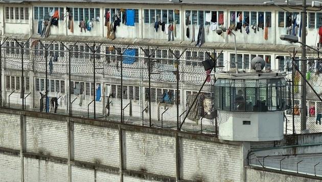 In diesem Gefängnis verschwanden Hunderte Menschen. (Bild: APA/AFP/GUILLERMO LEGARIA)