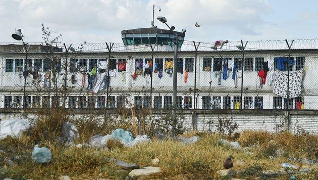 In diesem Gefängnis wurden 400 Menschen ermordet (Bild: APA/AFP/GUILLERMO LEGARIA)