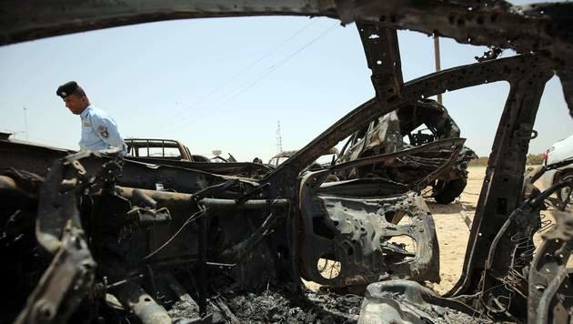 Irak: Autobombe t�tet mindestens zehn Menschen (Bild: APA/AFP/Ahmad al-Rubaye)