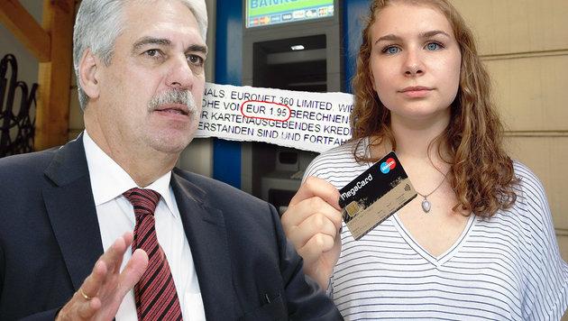 Nicht nur beim Abheben: So zocken uns Banken ab (Bild: Martin A. Jöchl, APA/GEORG HOCHMUTH)