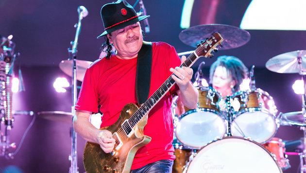 Gitarrenvirtuose Santana verzauberte Wien (Bild: Andreas Graf)