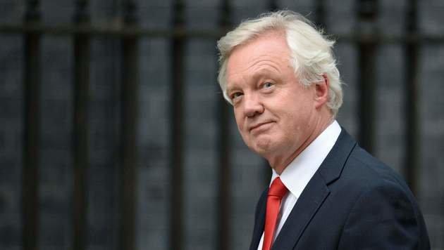 David Davis wird hauptsächlich mit Brüssel verhandeln. (Bild: APA/AFP/OLI SCARFF)