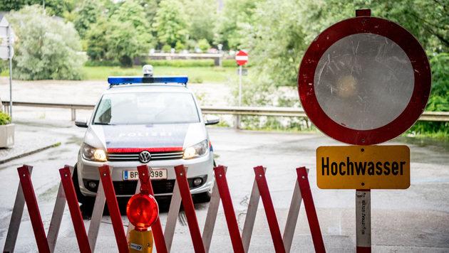 Hochwasseralarm an der Enns in Oberösterreich (Bild: APA/FOTOKERSCHI.AT)