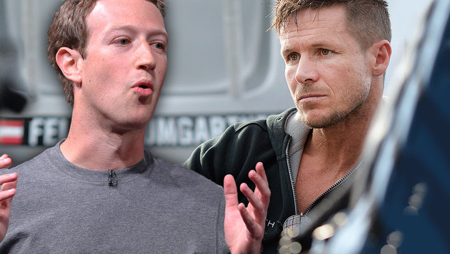 Facebook-Seite gesperrt: Felix Baumgartner zornig (Bild: APA/AFP/LLUIS GENE, APA/BARBARA GINDL)