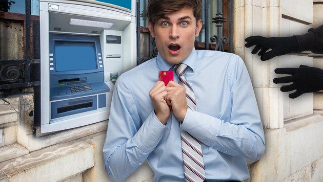 Nicht nur beim Abheben: So zocken uns Banken ab (Bild: thinkstockphotos.de)