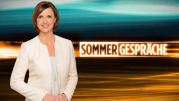 """Zuseherschwund bei den """"Sommergesprächen"""" (Bild: ORF)"""