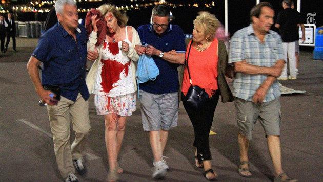 84 Todesopfer: So lief der Massenmord von Nizza ab (Bild: twitter.com/nytimesworld)