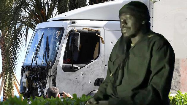 Der berüchtigte Hassprediger Omar Omsen rekrutierte in Nizza. (Bild: YouTube.com/Al Jazeera, APA/AFP/BORIS HORVAT)