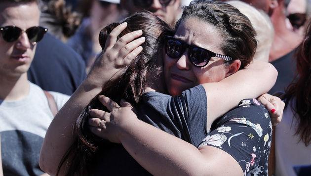 Um diese Menschen trauert die ganze Welt (Bild: AP)