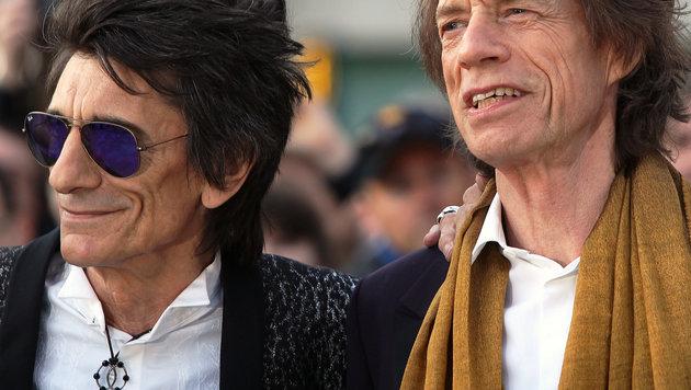 Ron Wood und Mick Jagger (Bild: Viennareport)