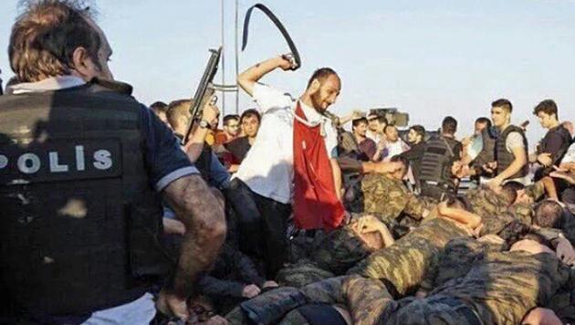 Umstürze, Gewalt: Erdogan wütet im Rache-Rausch (Bild: Screenshot/Twitter.com)