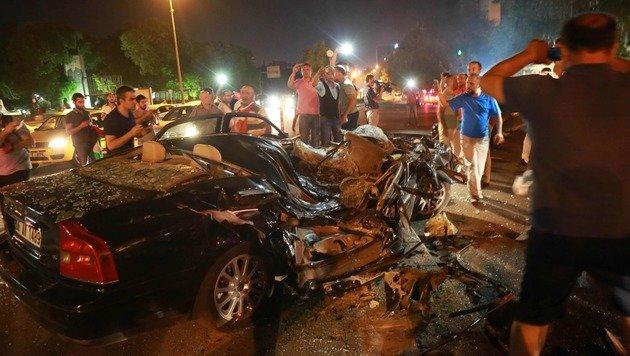 Bilanz der Chaos-Nacht: 265 Tote, 2800 Festnahmen (Bild: AFP)