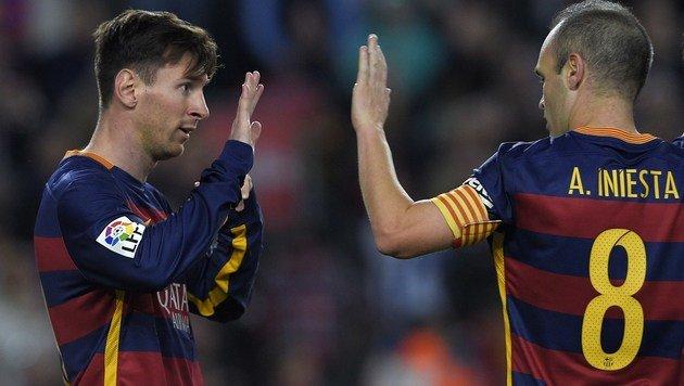 Angst - Messi und Iniesta pfeifen auf Türkei-Reise (Bild: AFP)